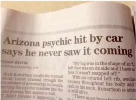 Psychic or Something Else?